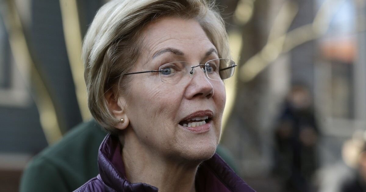 Warren, who ran as an uber-left-wing liberal, all but endorses Biden the 'moderate' for president