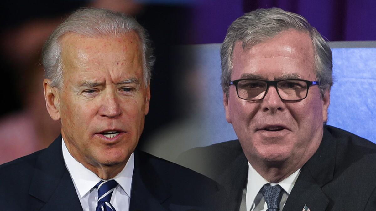 No, Joe Biden is not Jeb! 2016