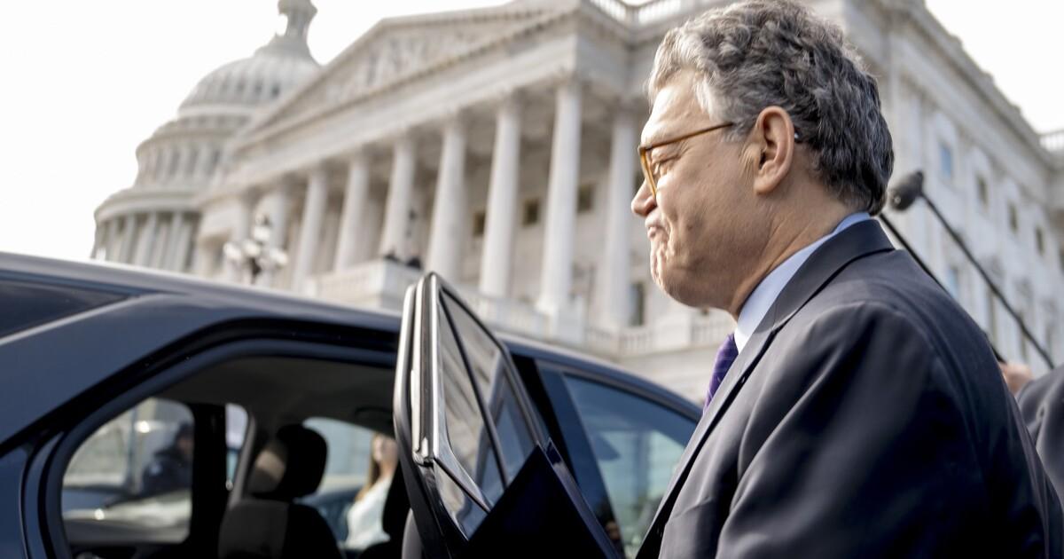 Al Franken Resigns On The Senate Floor But Admits No