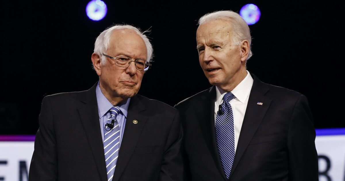 Four years later, Trump heals rift between establishment Democrats and Sanders base