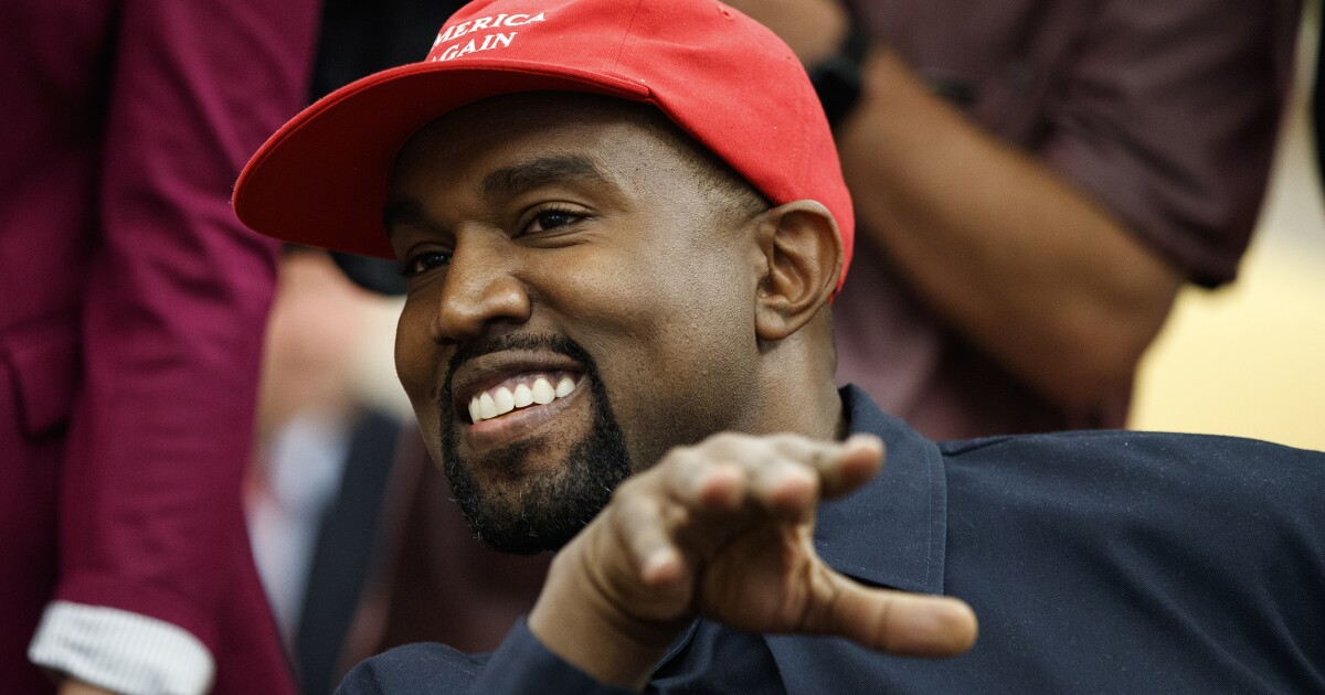 7df20107d Kanye West designed  Blexit  shirts calling for black people to leave the  Democratic Party
