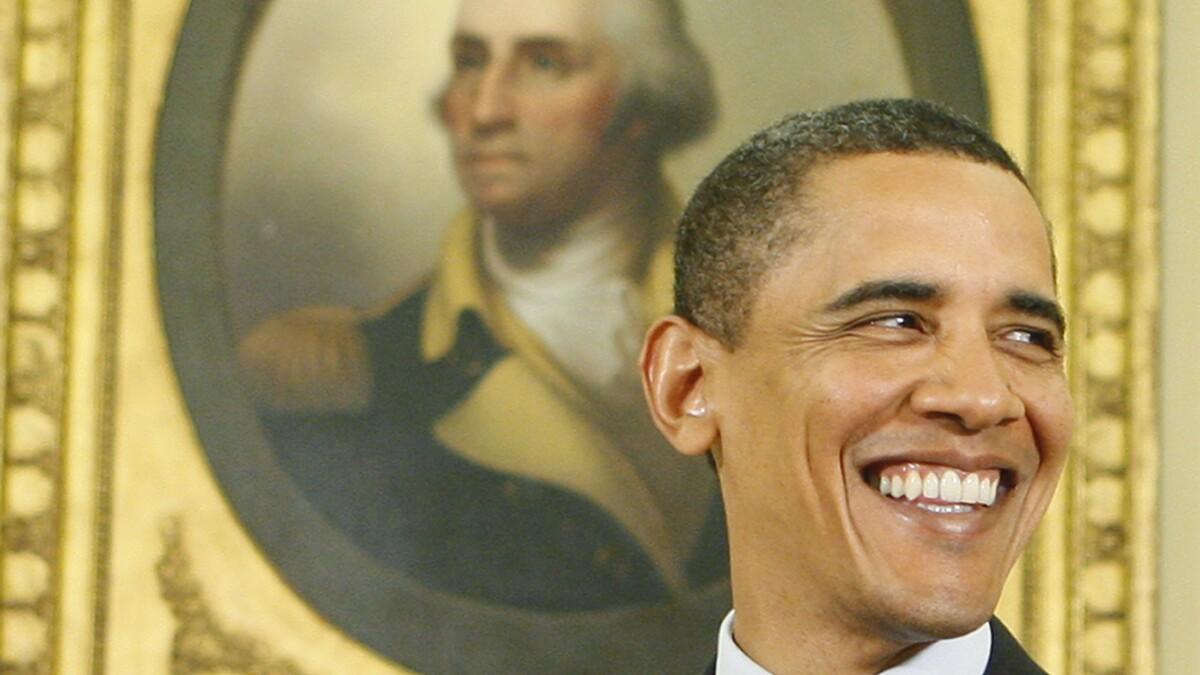 Majority of Democrats believe Obama was a better president than Washington