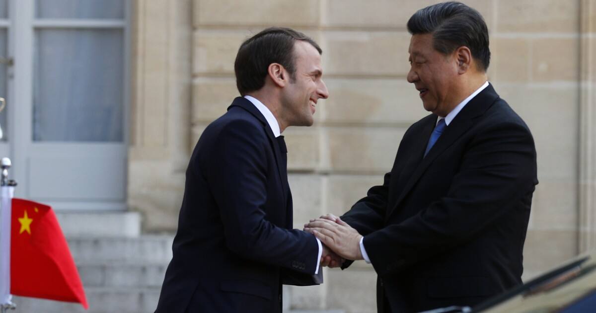 China tries to bribe France to break with America