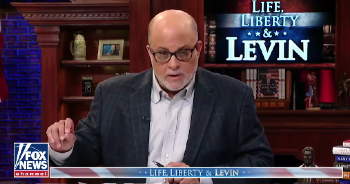 King Mark: Levin's Fox TV show No. 1 after just 7 months