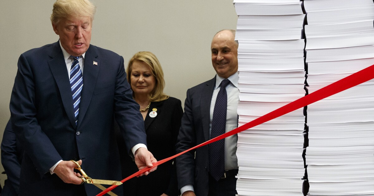 White House boasts it actually cut regulatory costs in 2018, $23B so far