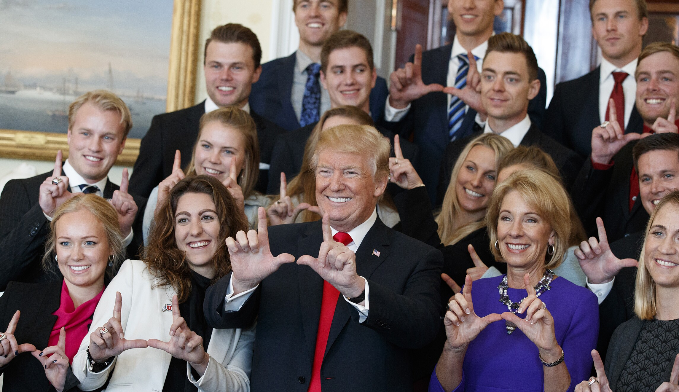 Image result for ncaa white house visit 2017