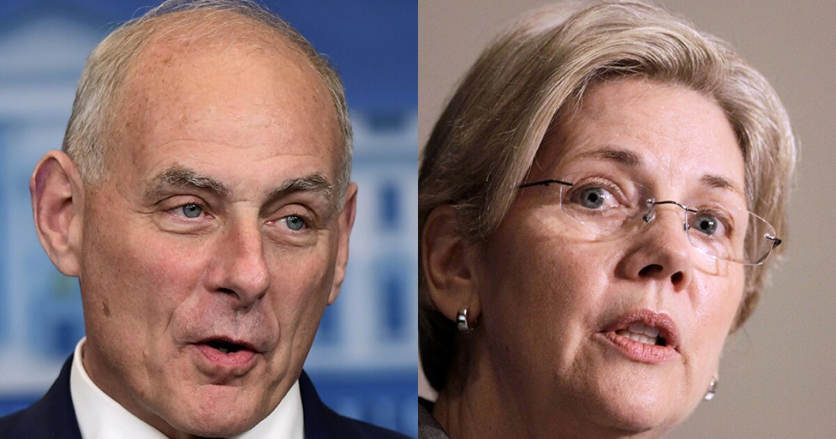 John Kelly called Elizabeth Warren an 'impolite arrogant woman,' emails reveal