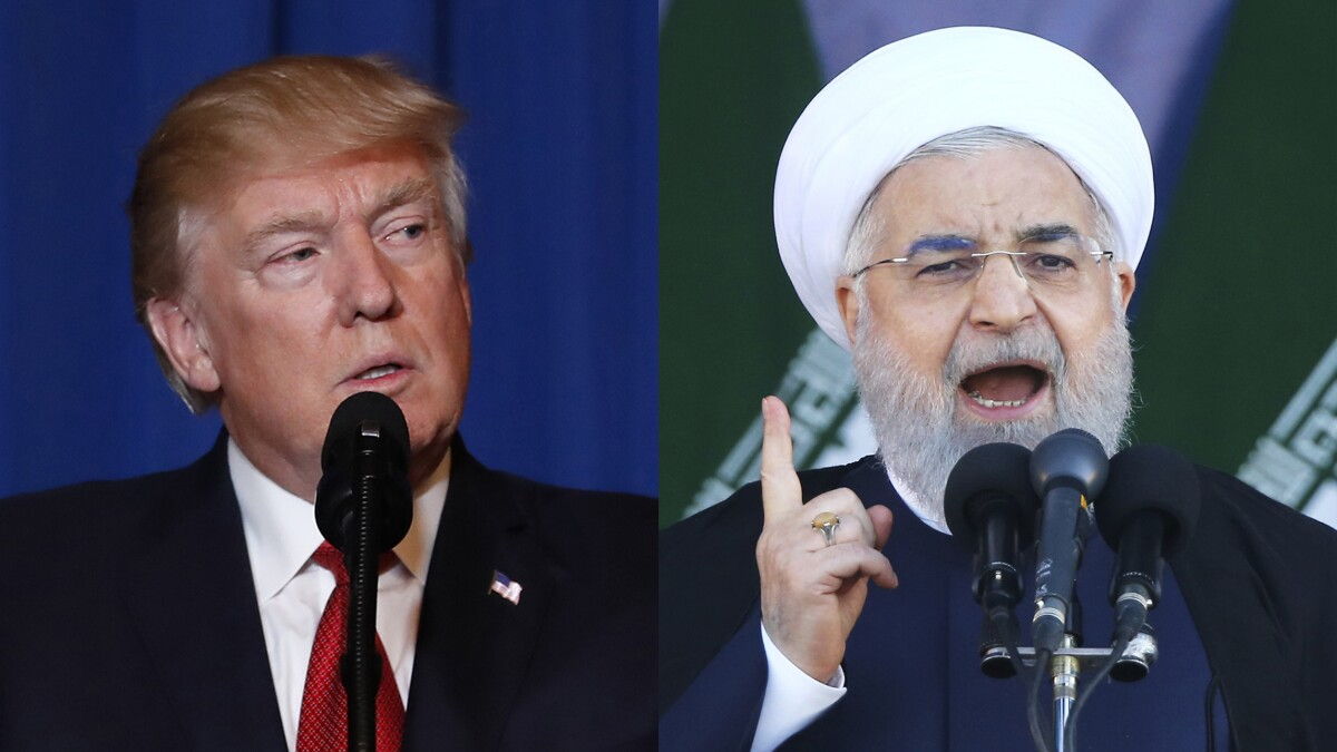 Iran president: White House 'afflicted by mental retardation'