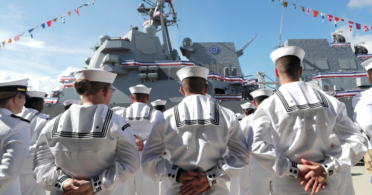 The goal of a 355-ship Navy is elusive,...
