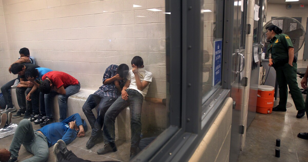 DHS warns Biden of crisis: Record 117,000 unaccompanied children expected at border this year