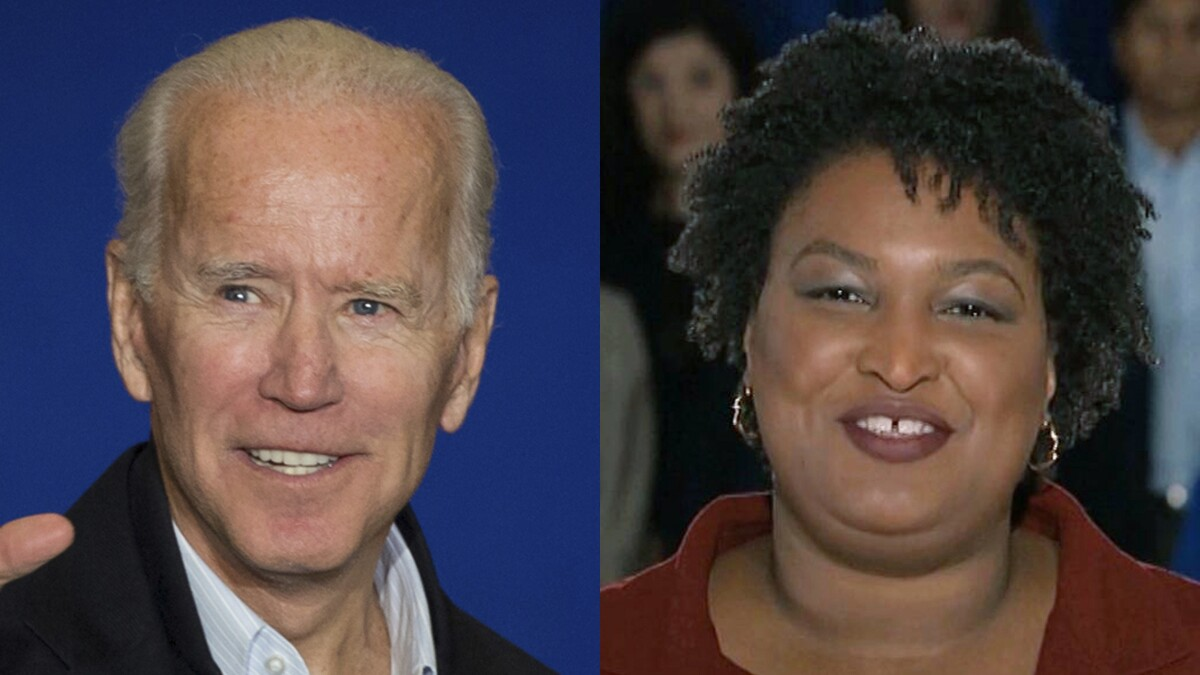 Stacey Abrams: Biden shouldn't be disqualified for his 'mistakes'