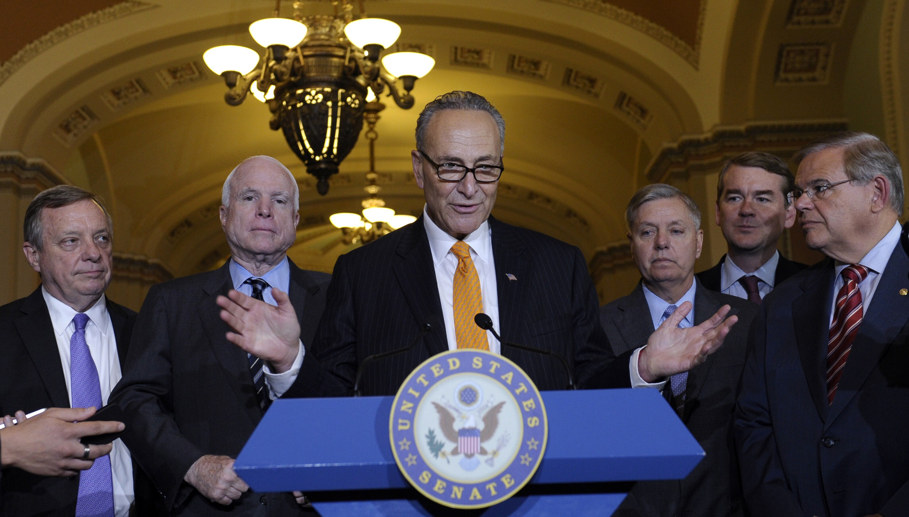 Senate turns up pressure on House to tackle immigration reform