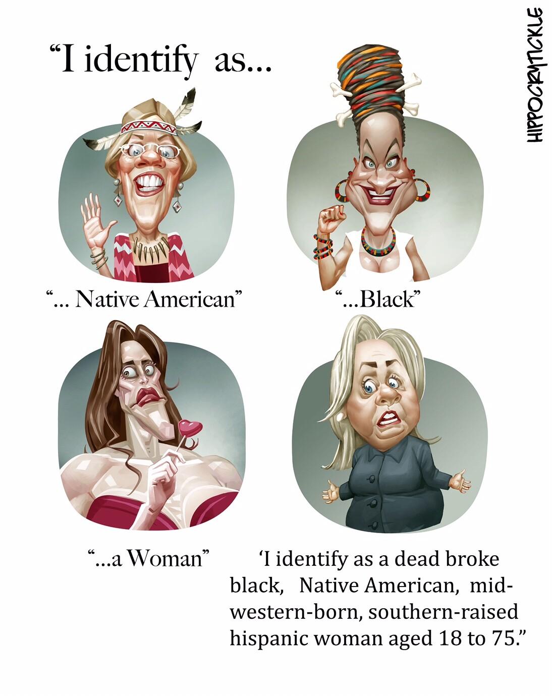 TEST cartoon: Identity crisis