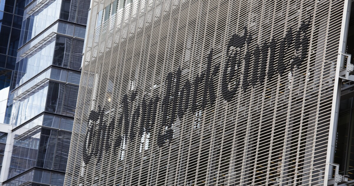 <i>New York Times</i> slammed as publishing 'straight-up propaganda' after Biden infrastructure plan headline
