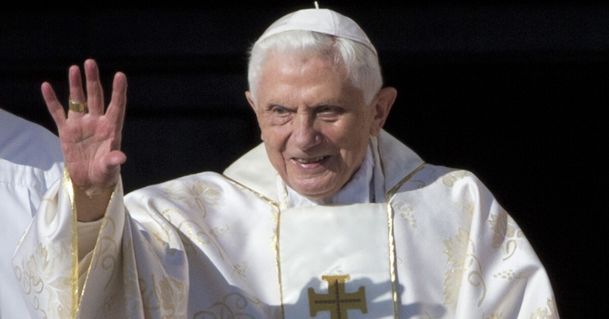 It's not enough for former Pope Benedict just to blame the 1960s