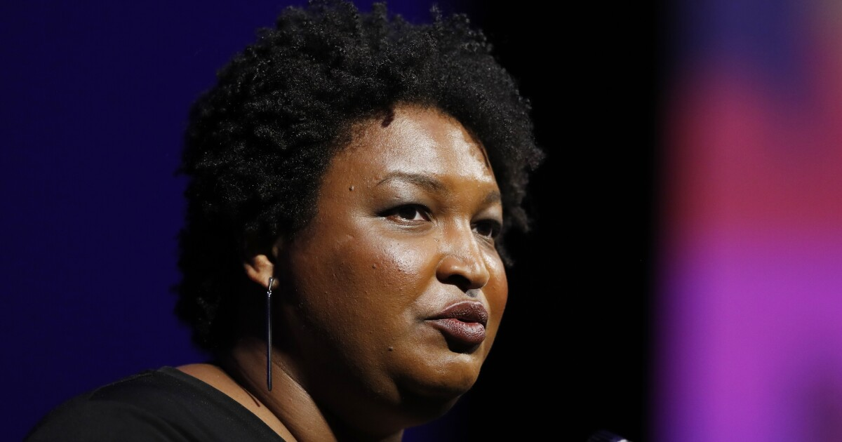 The disgraceful legitimization of Stacey Abrams' election conspiracy theories