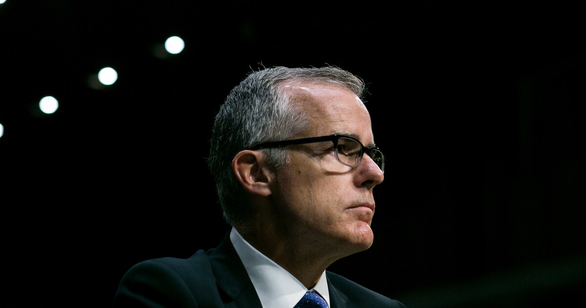 Andrew McCabe: 'Gang of Eight' was informed of investigation into Trump, 'no one objected'