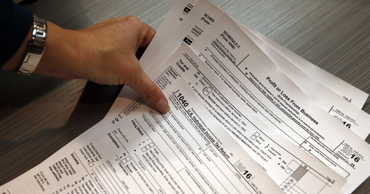 Americans Spend An Average Of 54 Hours Doing Their Taxes