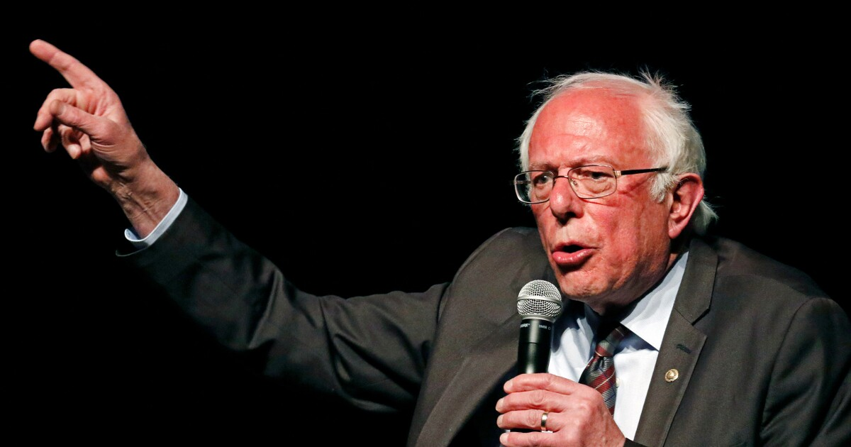 Bernie Sanders proposes 60% tax on wealth gained by billionaires during pandemic