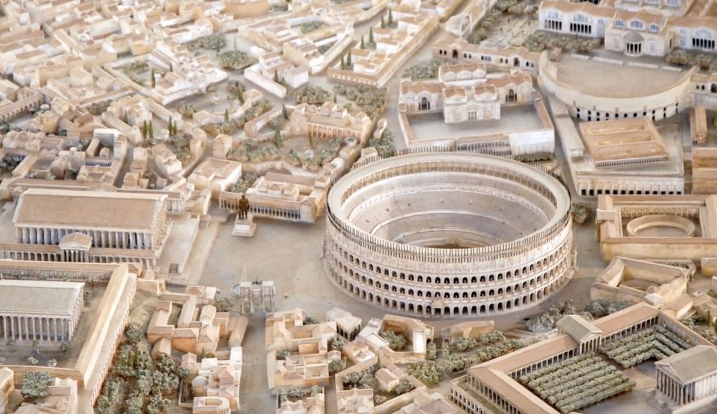 New model depicting ancient Rome with extraordinary detail opens to public