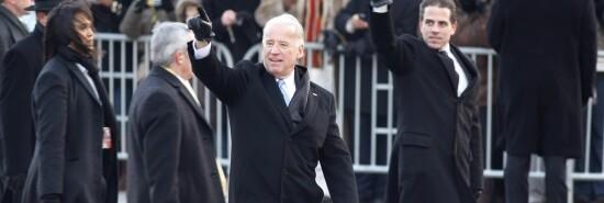 Joe and Hunter Biden at 2009 Obama Inauguration