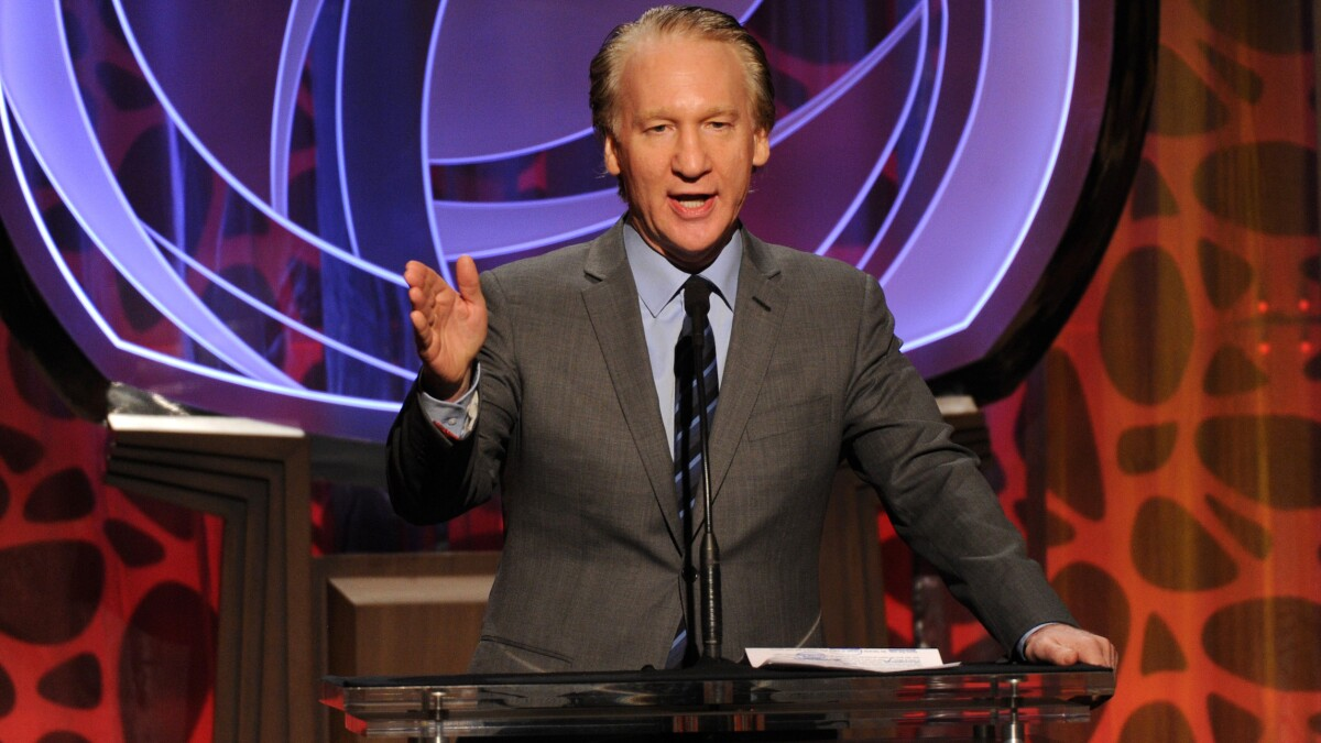 Bill Maher understands America's new privileged victim class, almost