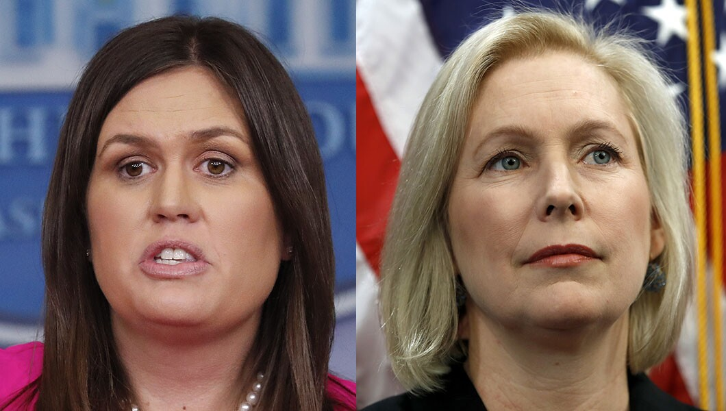 From Sarah Sanders to Kirsten Gillibrand, conservative group launches project to oppose sexist attacks on women in politics (washingtonexaminer.com)