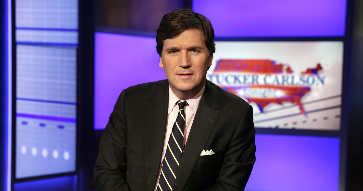 Tucker Carlson responds to Antifa group mobbing his home: 'It wasn't a protest. It was a threat'