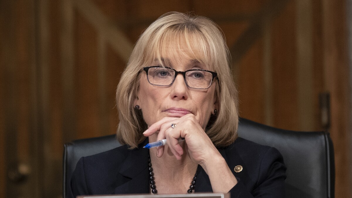 Something is terribly wrong in Maggie Hassan's office