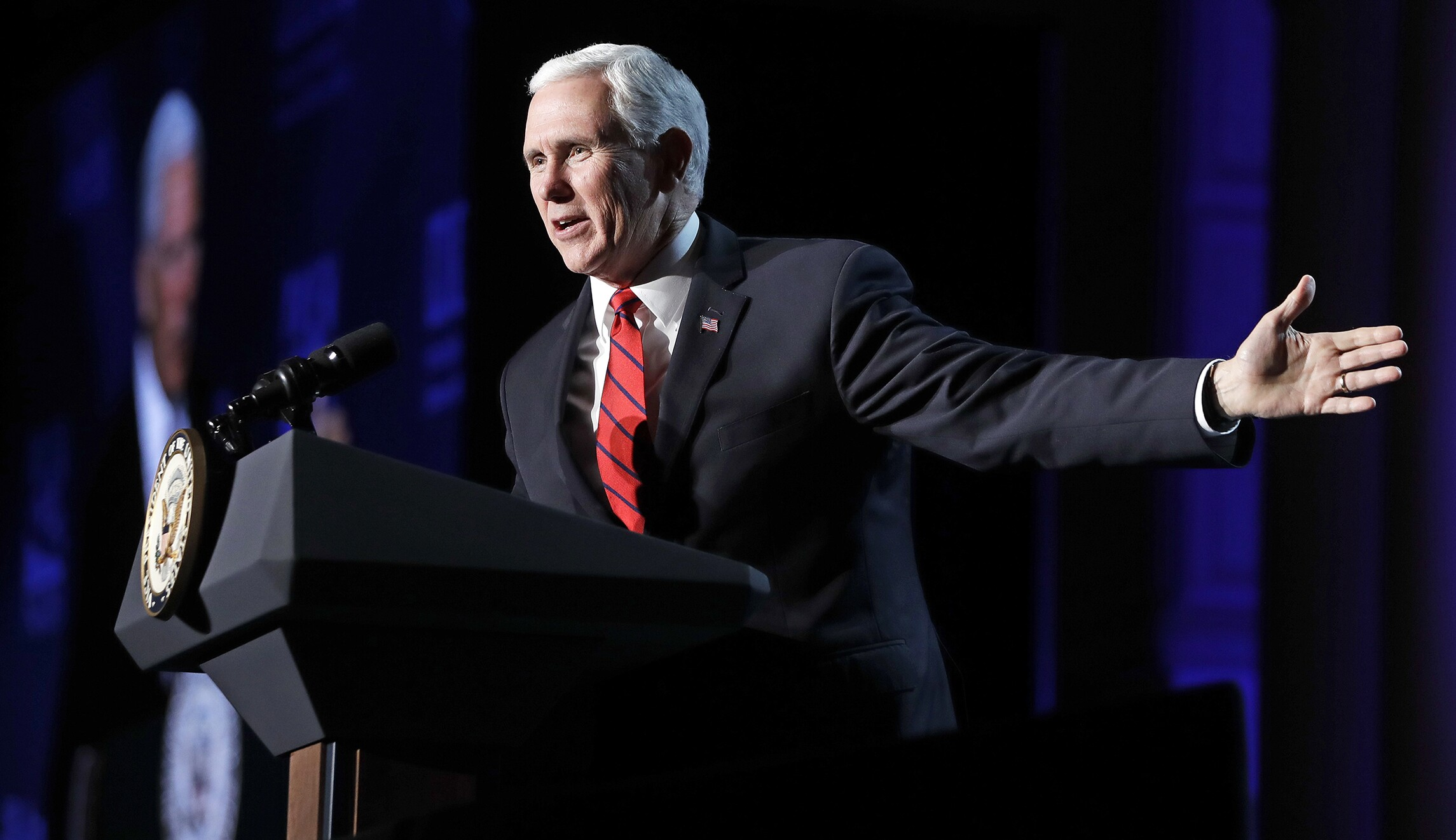 Mike Pence predicts end to legal abortion 'in our time'