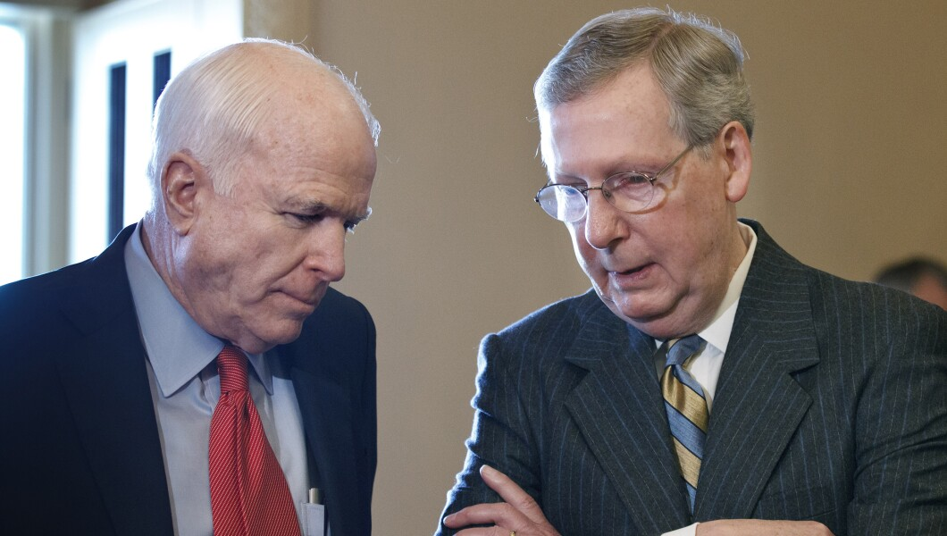 Image result for mccain and mcconnell