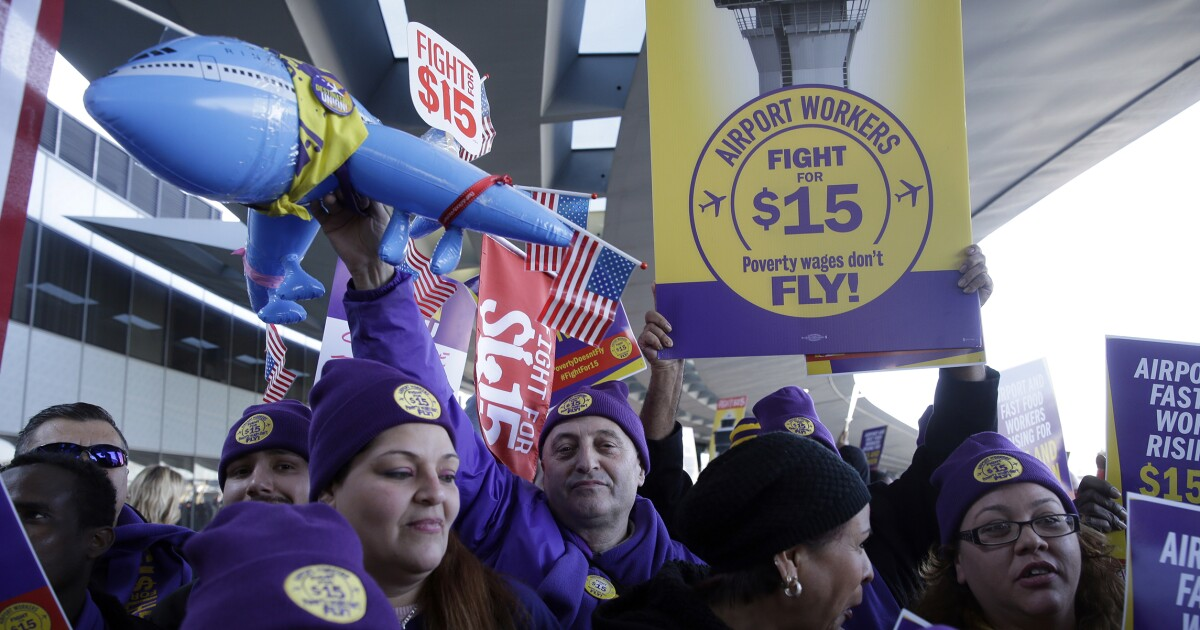 House to vote on $15 federal minimum wage Thursday