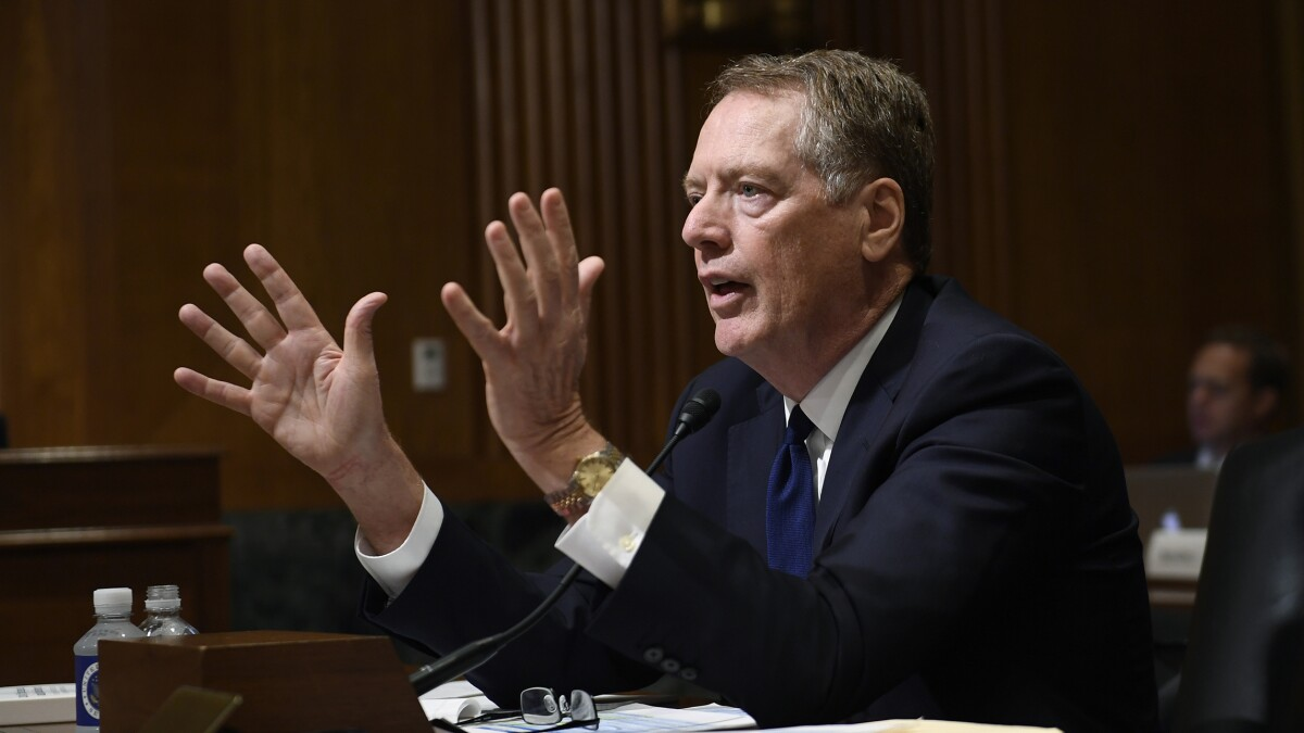 Lighthizer says US and China talking again on trade