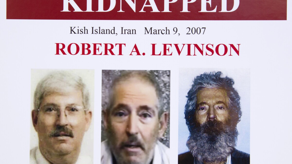 Iran says 'missing person' file open on ex-FBI agent who disappeared there on CIA job