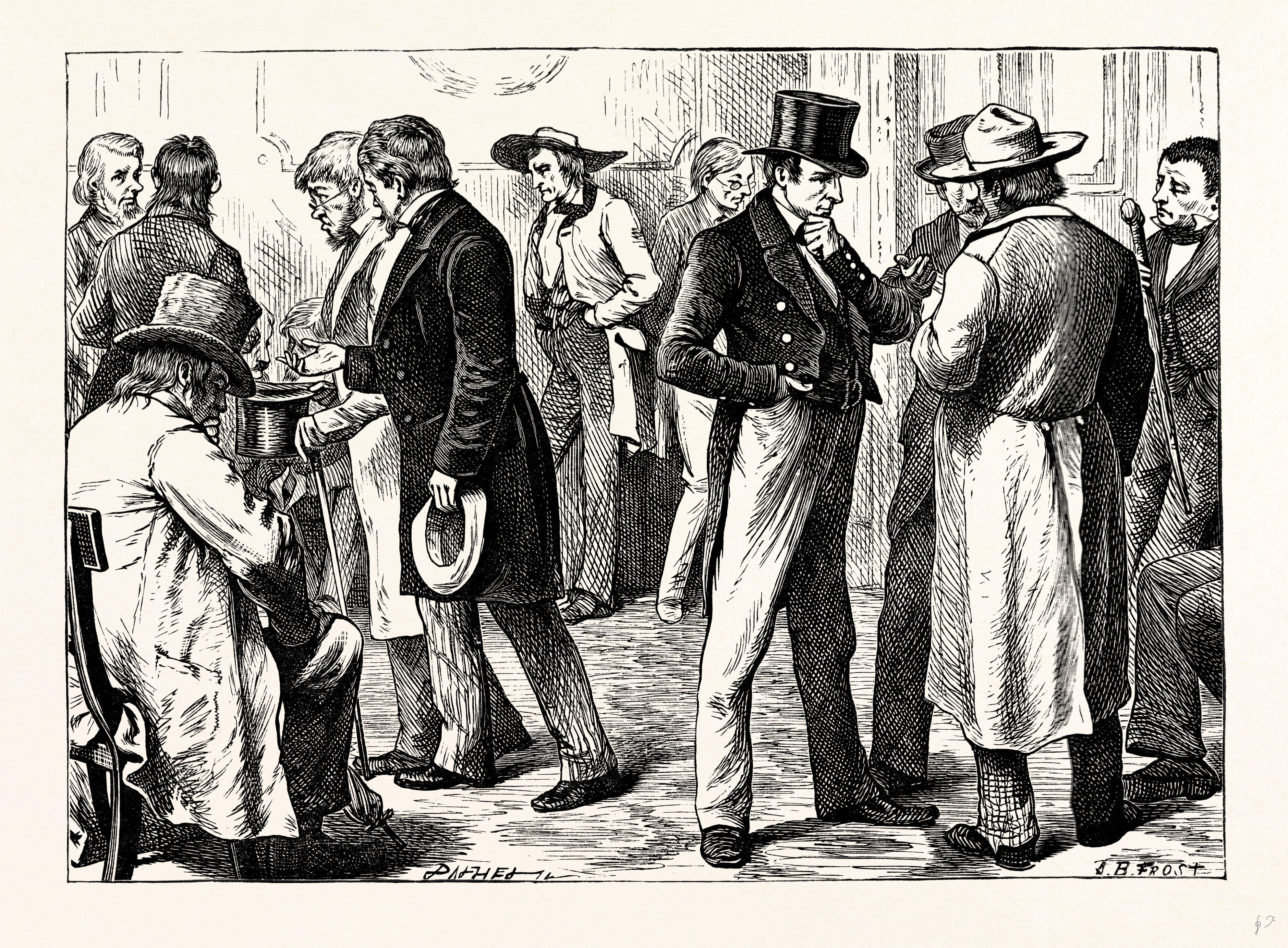 """Charles Dickens, American Notes, 1842, """"In The White House"""""""