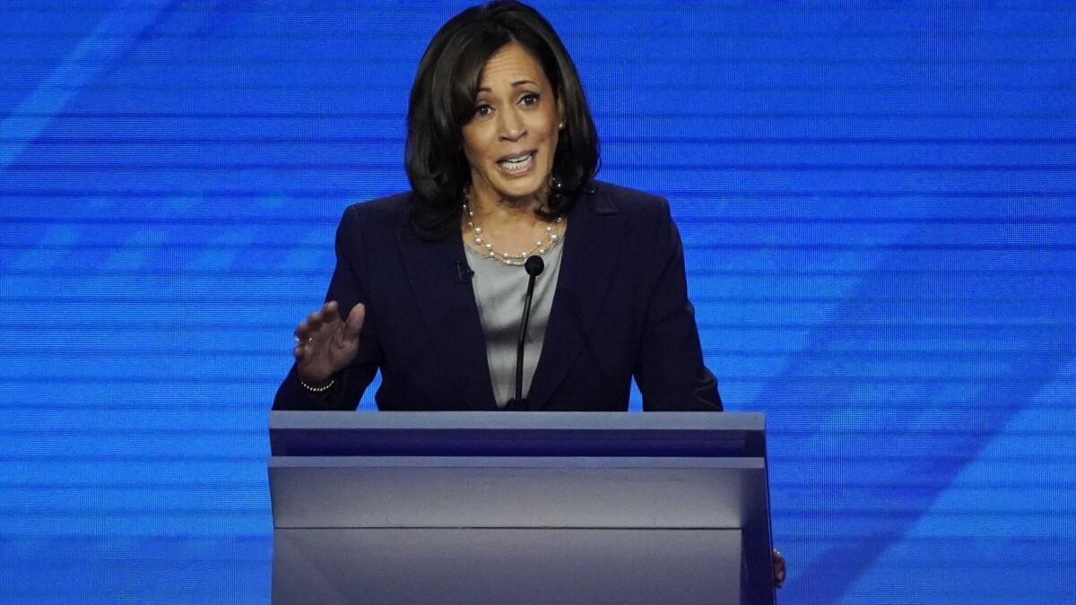 Election 2020 Debate Harris