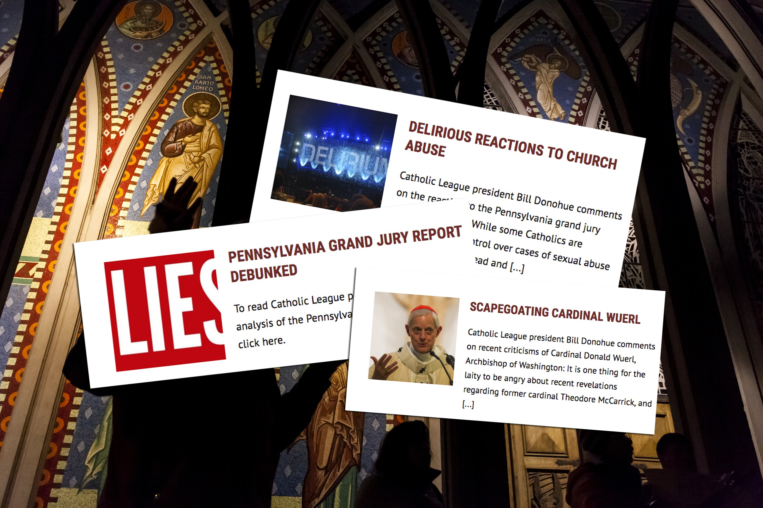 The Catholic League's Reprehensible Response to the
