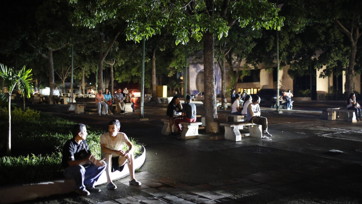 Venezuela blames massive blackout on 'electromagnetic attack'