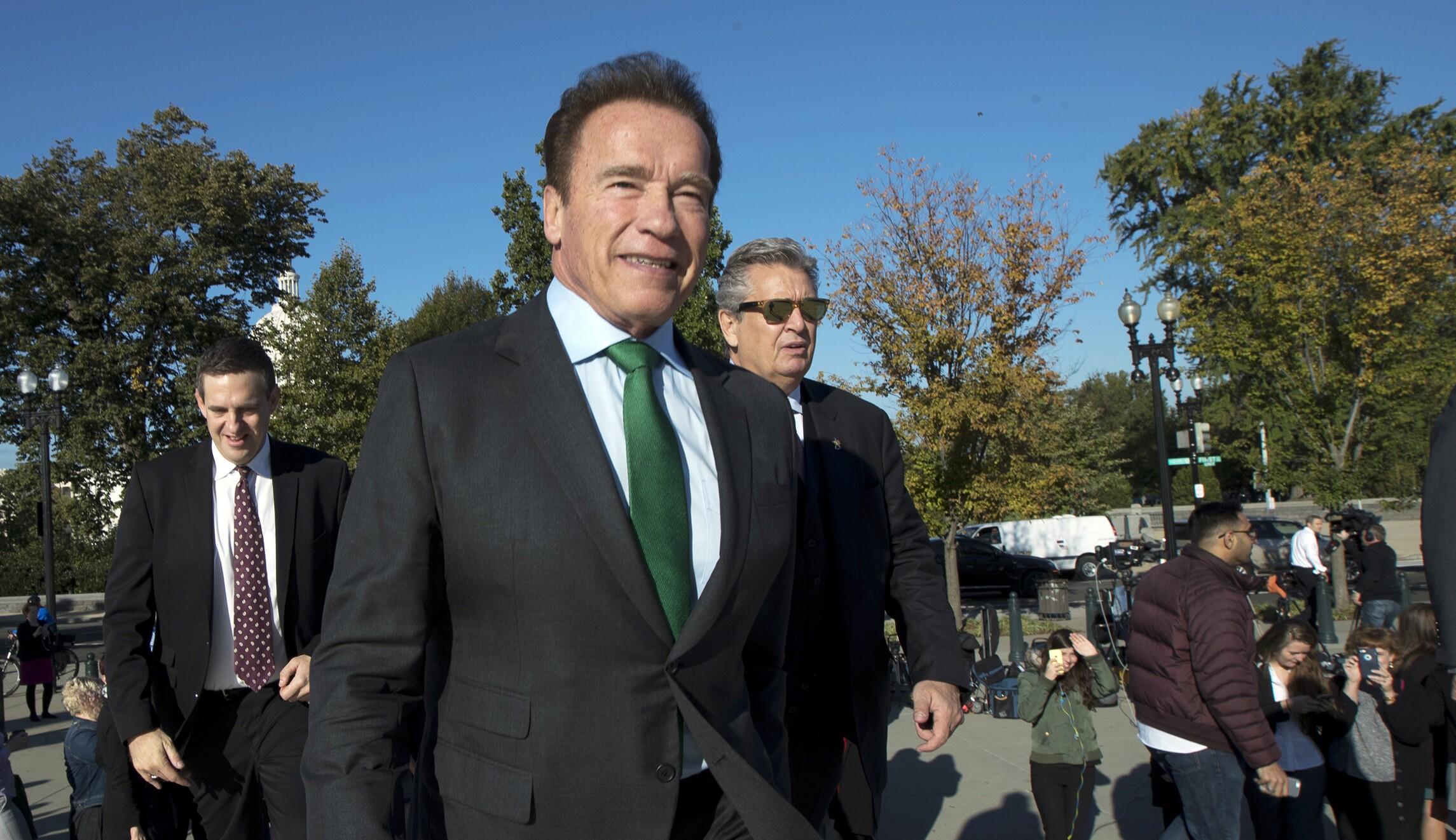 Arnold Schwarzenegger Calls On Supreme Court To Terminate
