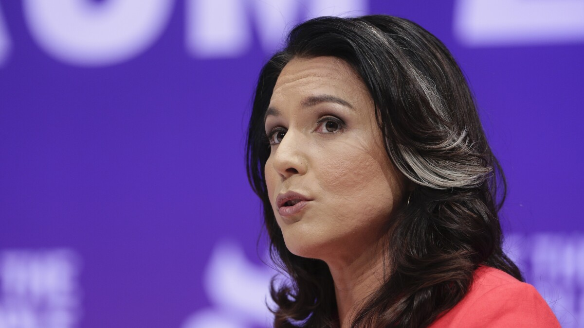 'You are not our pimp': Tulsi Gabbard accuses Trump of placing US troops under command of 'Islamist dictator'