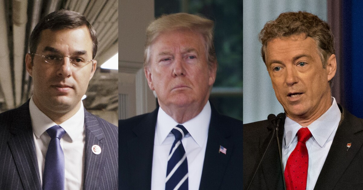 Justin Amash vs. Rand Paul: Which libertarian is right about Trump?