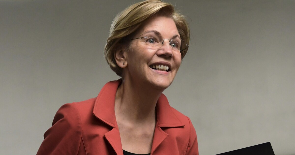 Elizabeth Warren 'delighted' energy company in Massachusetts is reducing rates due to GOP tax plan she opposes