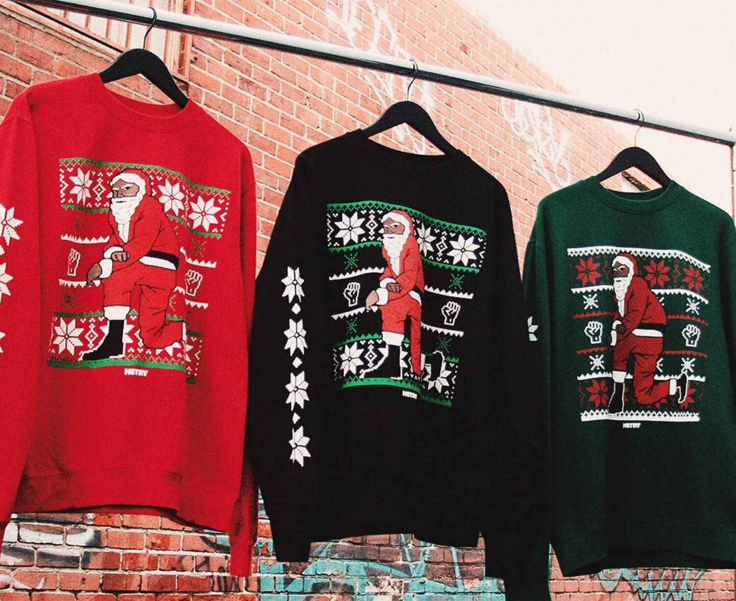 Christmas sweaters just got political