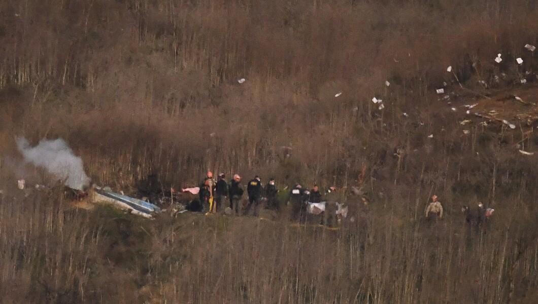 Helicopter Crash Kobe Bryant Killed