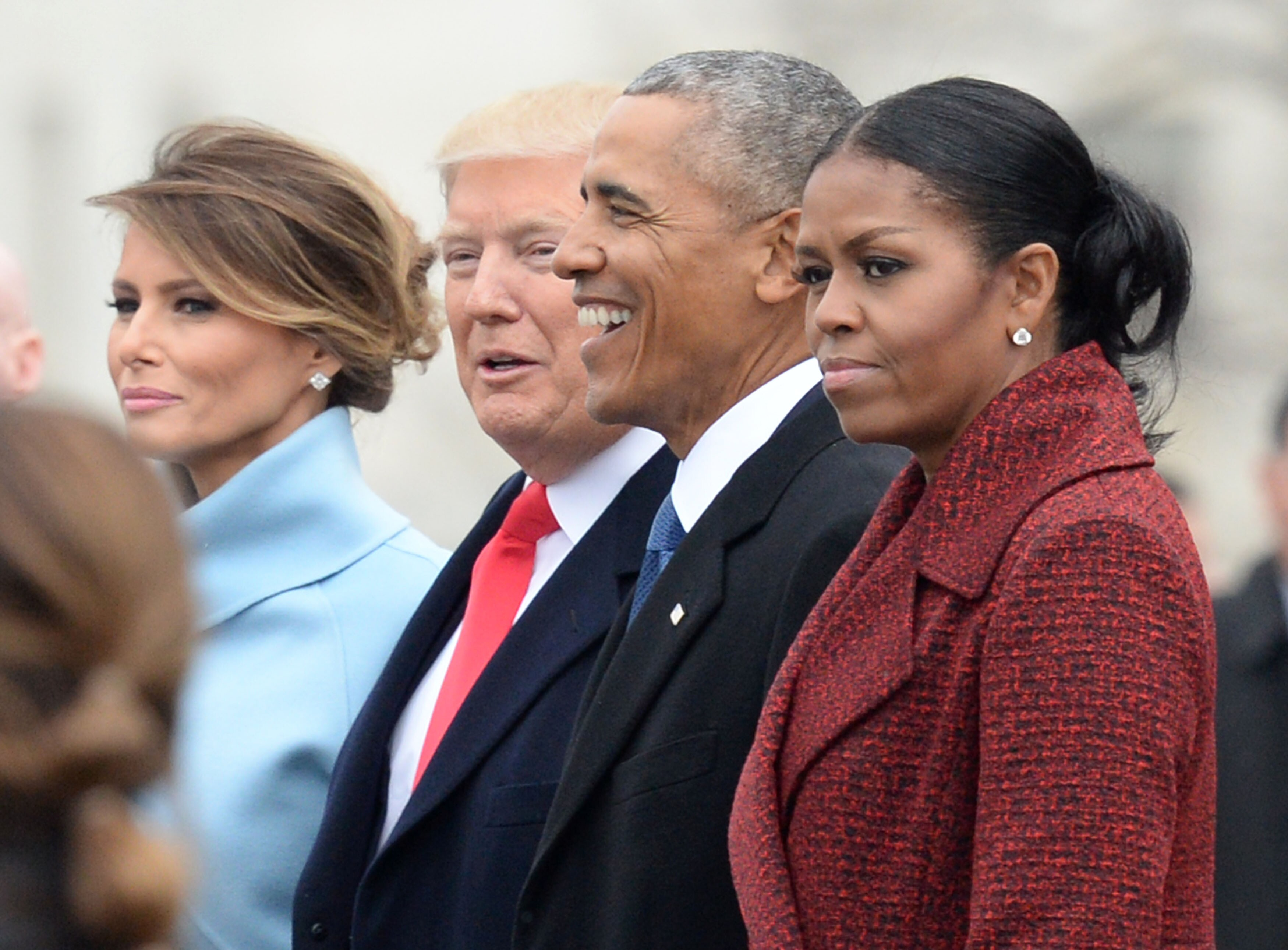 Image result for michelle obama and melania trump