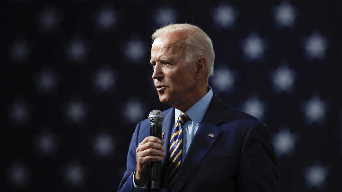 'Not a joke': Biden claims he was accused of being gay in 1972 for supporting women's rights