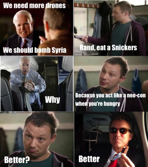 Meme Rand Paul Just Needs A Snickers