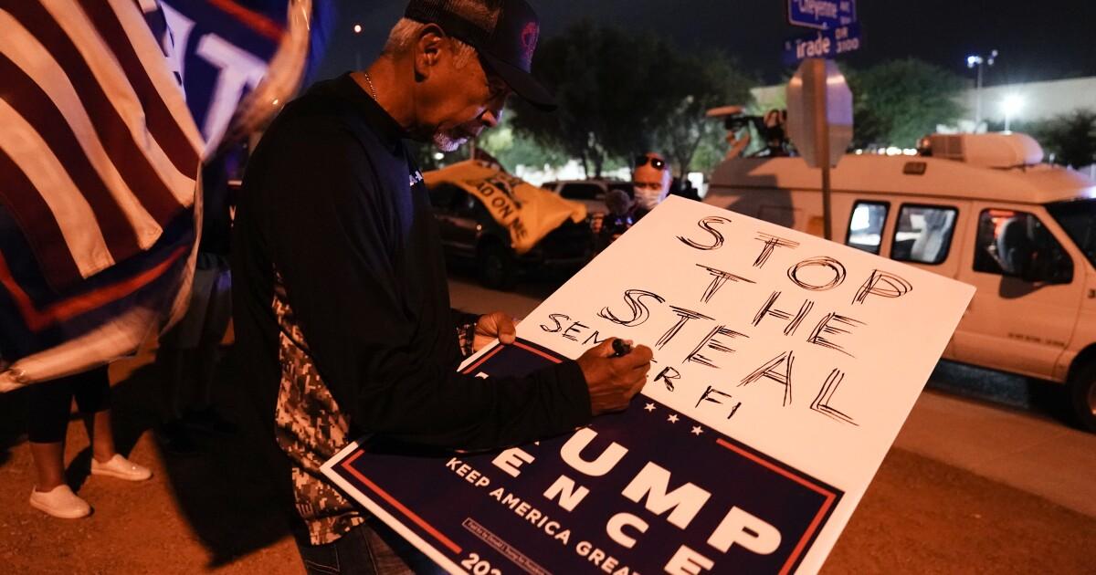 Huge court win lets Trump present ballot evidence, could overturn Nevada result