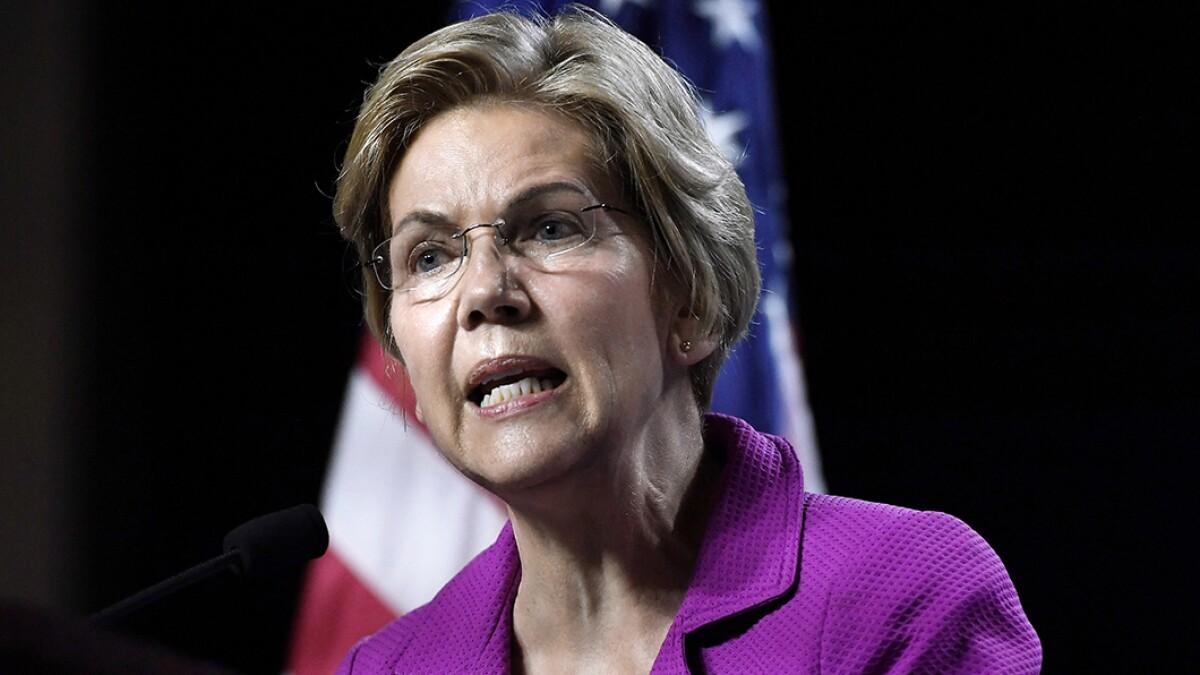Elizabeth Warren has a plan that could crash the market