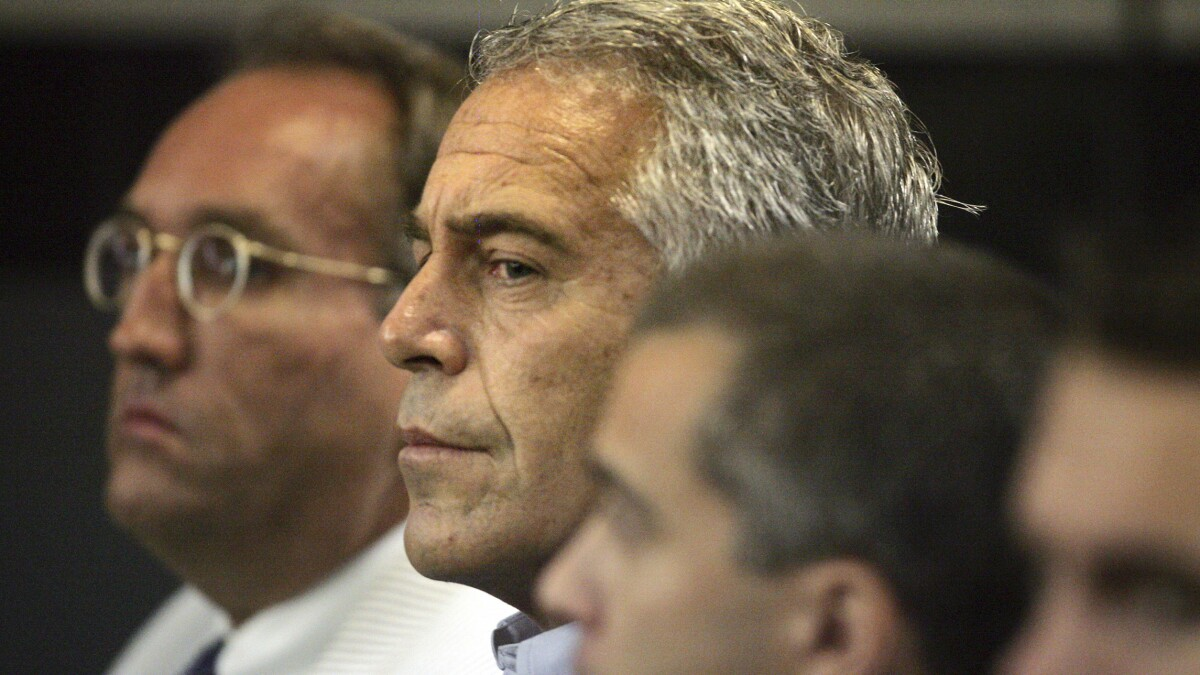 'Murder and strangulation': Forensic pathologist claims Epstein autopsy photos show foul play
